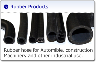 Farm machines, construction equipment, and industrial machines (rubber parts)